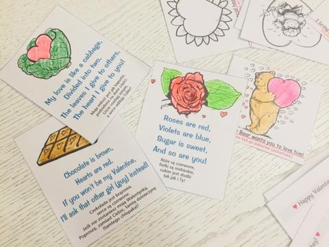 Języki Dzieciom Happy Valentines Day Czyli Angielskie