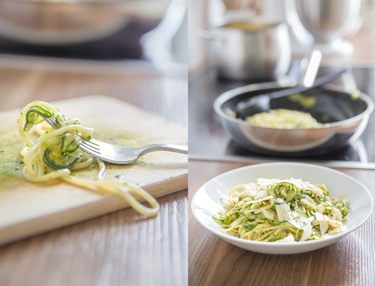 schnelle zucchini-pasta - mein ideenreich - Schnelle Küche Für Zwei