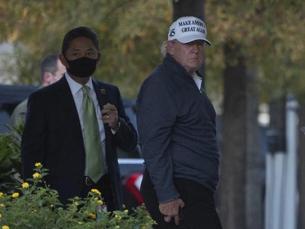 Biden Dinyatakan Menang, Trump Muram Saat Tiba di Gedung Putih