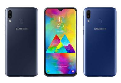 Layar Infinity-V Display Samsung Galaxy M20