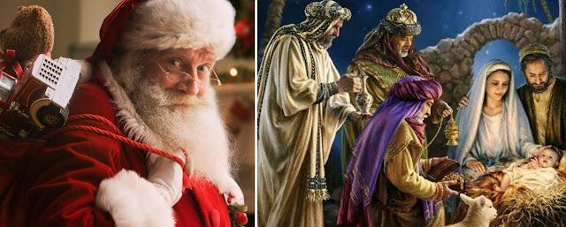 ¿Santa Claus o los Reyes Magos? ¿Que le enseñas a tus hijos?