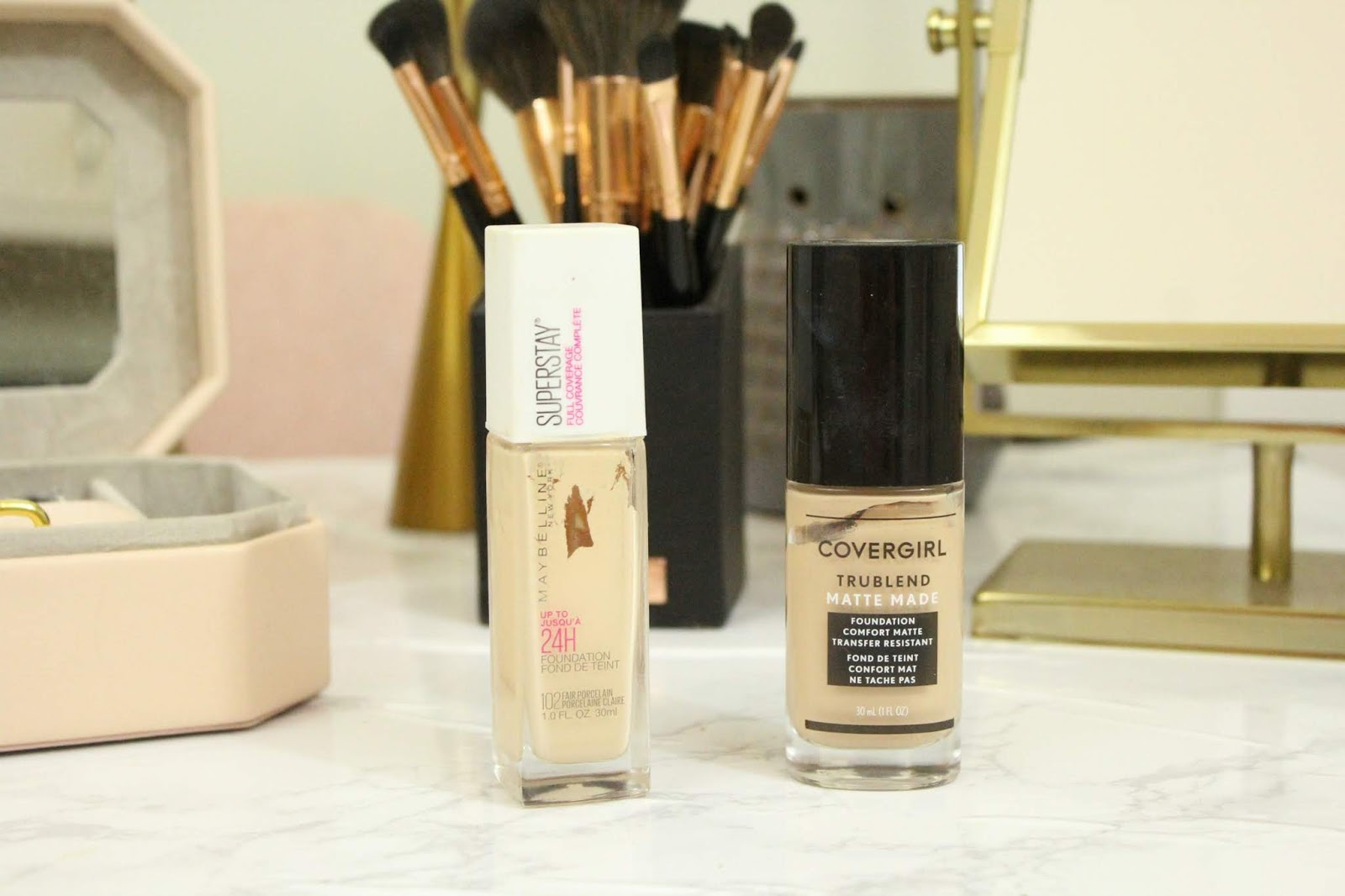 Covergirl Foundation Vs  Maybelline Foundation - Echanning