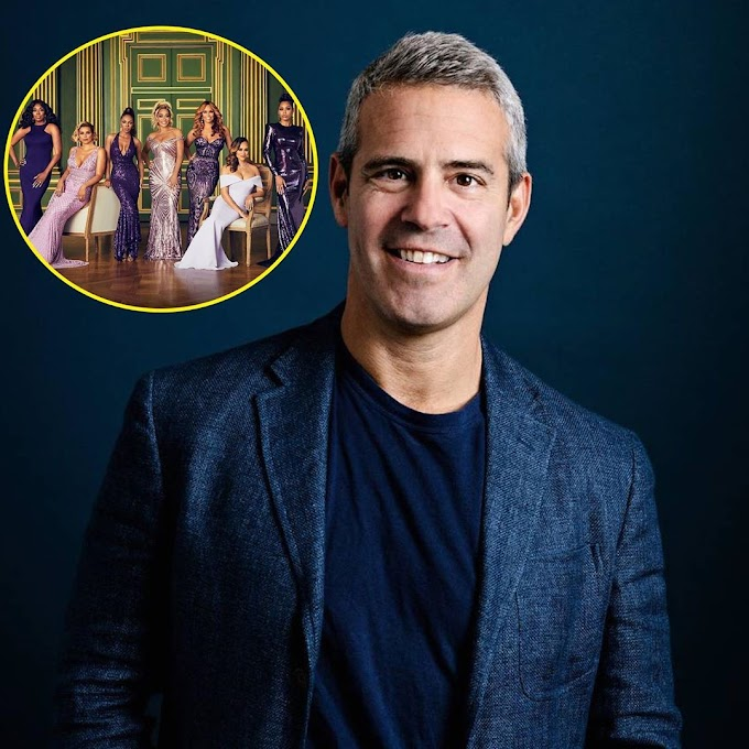 """Andy Cohen Says He Is """"Hoping"""" The Upcoming 'RHOP' Season Five Reunion Taping Will Be """"In Person"""""""
