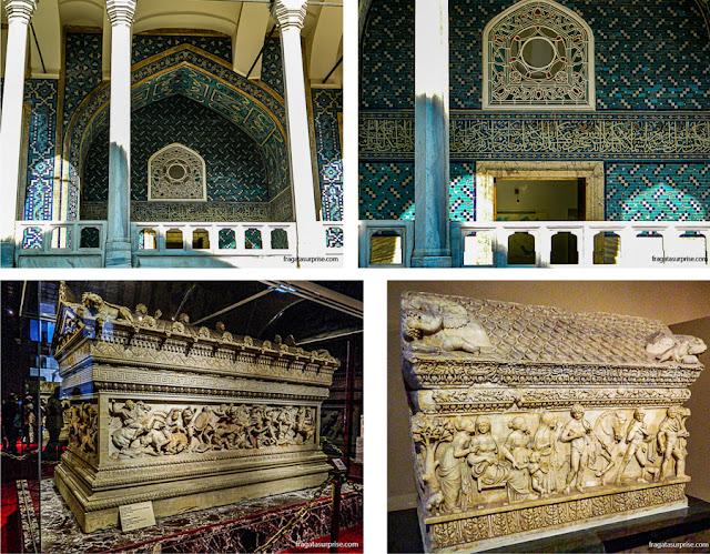 O Quiosque Esmaltado e o Museu Arqueológico de Istambul