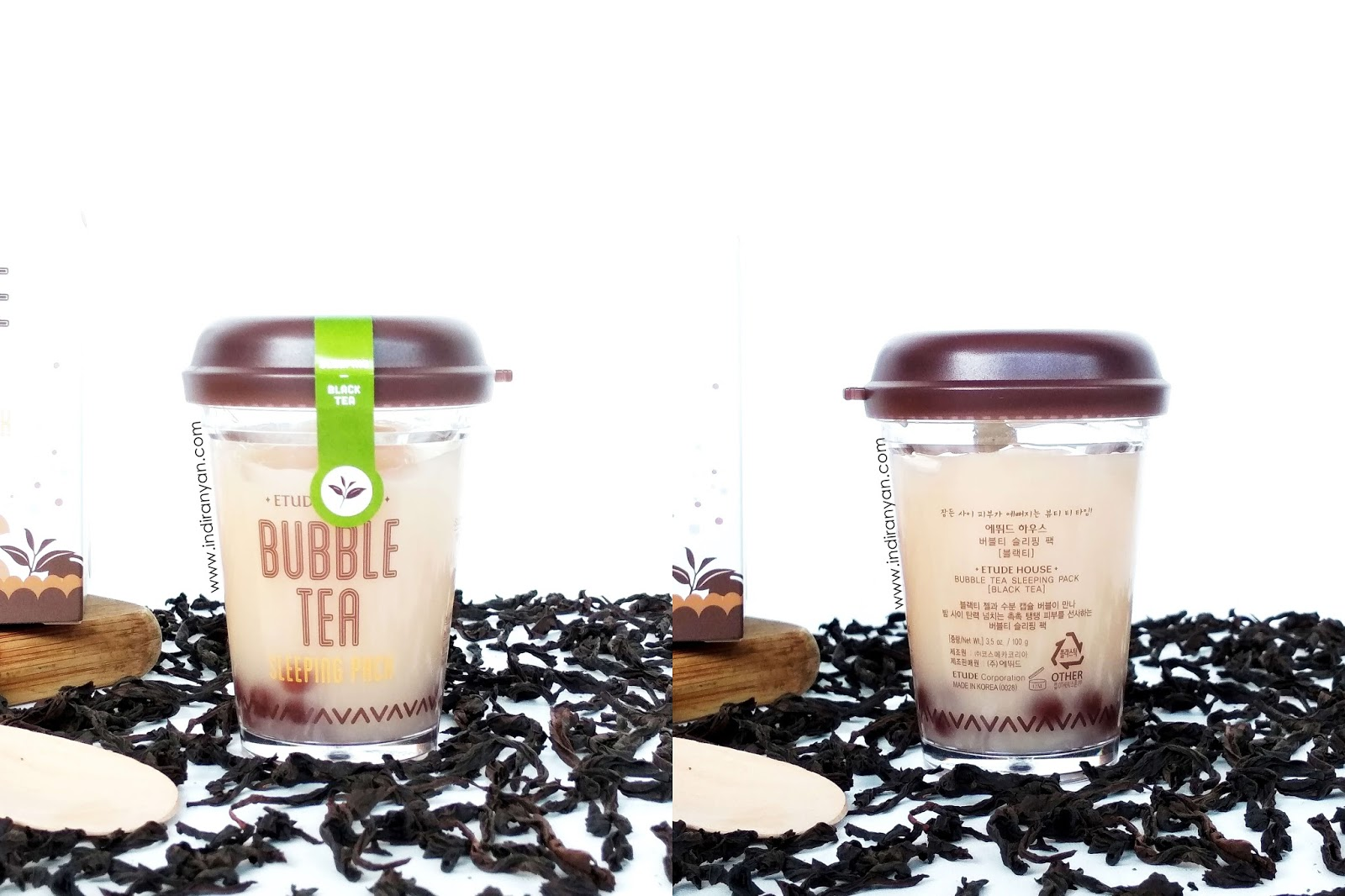etude-house-bubble-tea-sleeping-pack-black-tea, etude-house-bubble-tea-black-tea