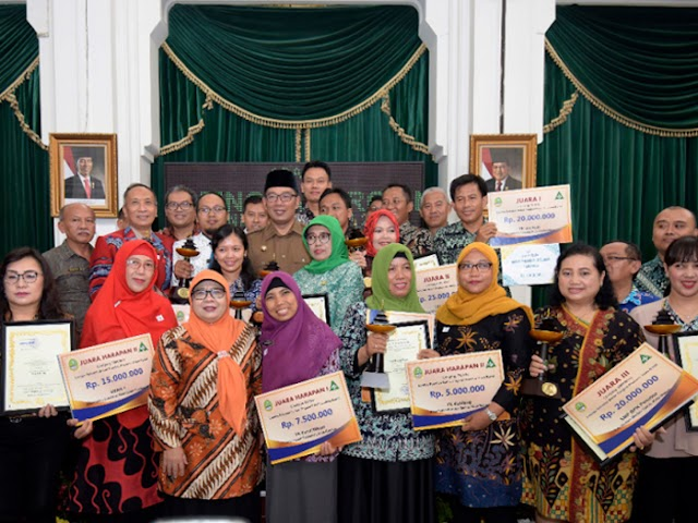 Inilah 20 Pemenang Lomba Sekolah Sehat Tingkat Jawa Barat 2018