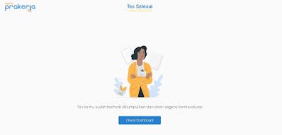 Tes Online Kartu Pra kerja