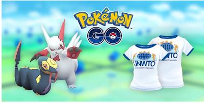Pokemon go world tourism day research,  Inilah Tugas dan Hadiah di Penelitian Hari Pariwisata Pokemon GO
