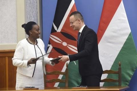 Szijjártó: 50 millió dolláros kötöttsegélyhitel-program indul Kenyával