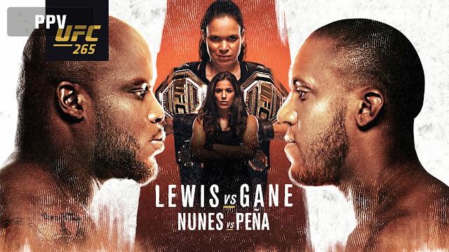 Ver UFC 265 Lewis vs Gan En vivo Español Online