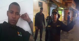 ATROPELLOS A CAMARÓGRAFO EN SFM POR PARTE DE LA POLICÍA MUNICIPAL DE ALEX DIAS, ALCALDE.