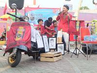 Ikatan Mahasiswa Muhammadiyah di Kotabumi Gelar Konser Amal