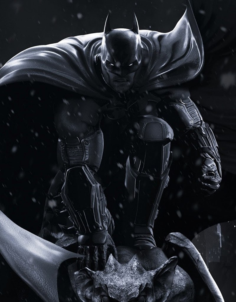 Batman Black Winter Android Best Wallpaper