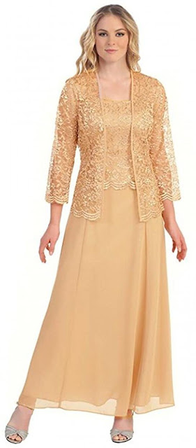 Best Quality Gold Mother of The Groom Dresses,