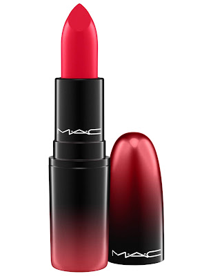 MAC Love Me Lipstick Reds Give Me Fever