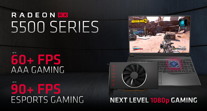 AMD Radeon RX 5500 Series Revealed