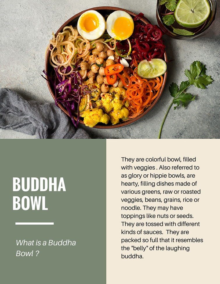 Buddha Bowls or Hippie / Glory Bowls -Simi Jois