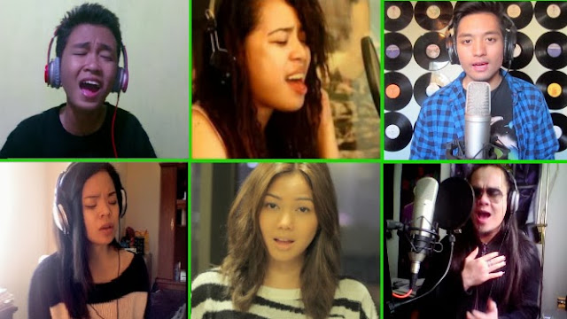 Aldrich Lloyd Talonding, other Filipino Youtube singers unite for charity video