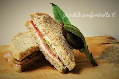 foto Ricetta sandwich invernale per bambini