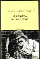 Portada de La Conjura de los Necios de John Kennedy Toole