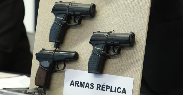 PRD insistirá en tipificar como grave uso de armas réplica