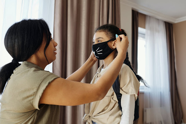 Women, Child, Mother, Wearing Mask for Kid, Combatting Covid, What Should You Bear in Mind, Covid, Health