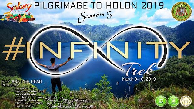 Infinity Trek to Lake Holon