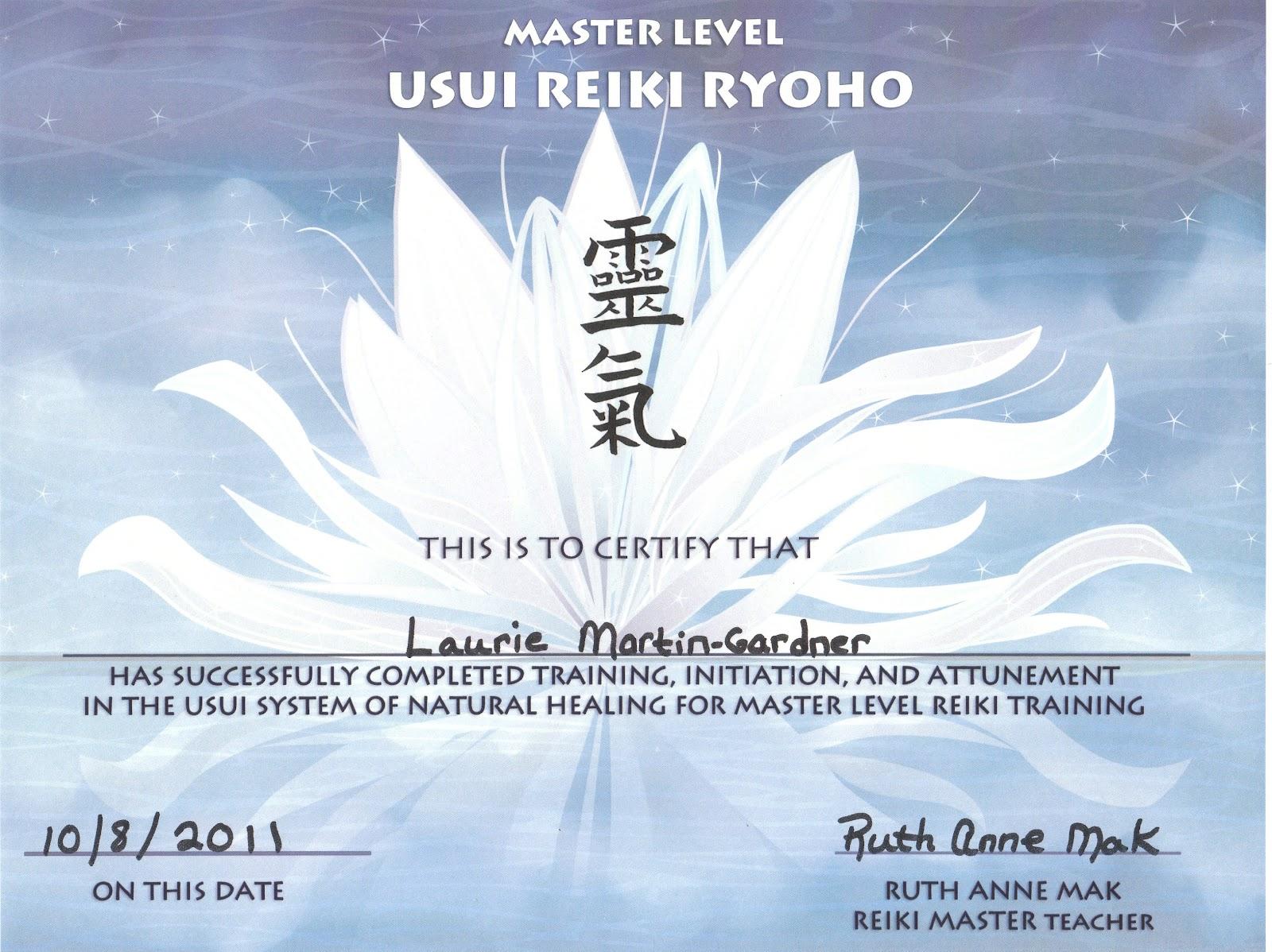 Reiki master calgary reiki master class reiki master certificate template yadclub Gallery