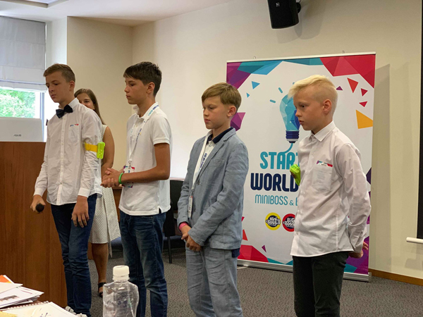 kids at startup world cup championship