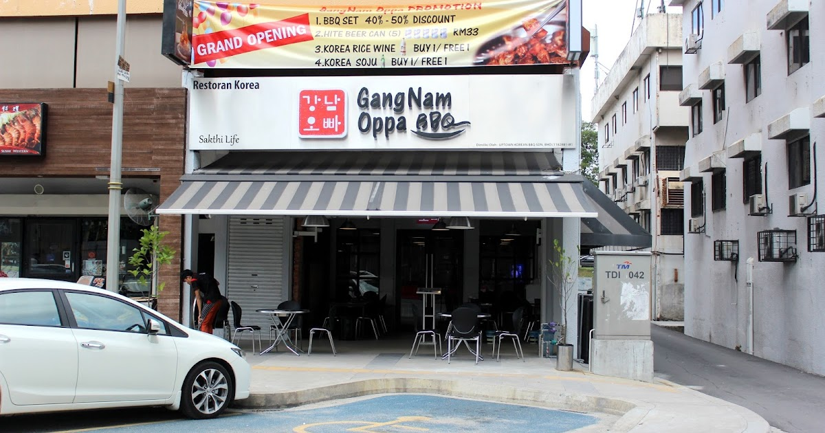 Good Morning Too In Korean : A journey of life gangnam oppa bbq damansara utama