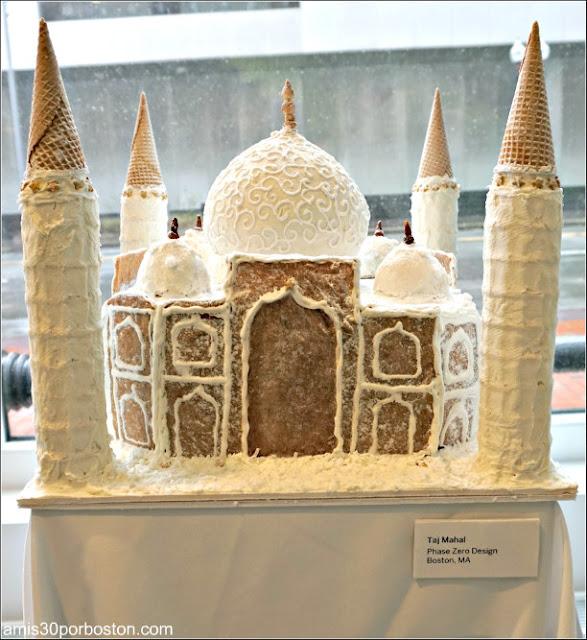 """Casitas de Jengibre en Boston: """"Taj Mahal"""""""
