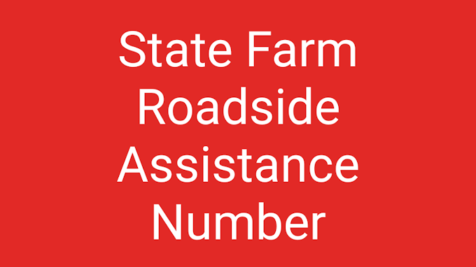 State Farm Roadside Assistance Number