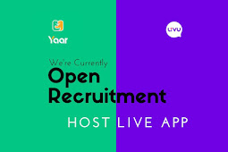 Open Recruitment Host Live App