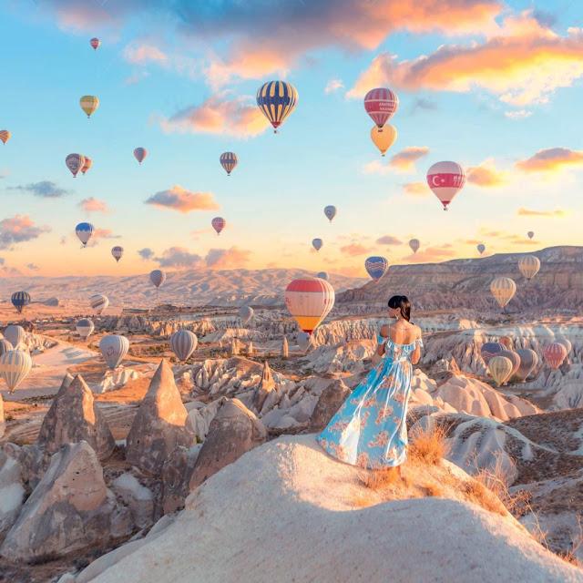 Quần thể núi đá vôi Cappadocia, Thổ Nhĩ Kỳ