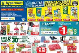Katalog Promo Hypermart Weekend Terbaru 21 - 24 Juni 2019