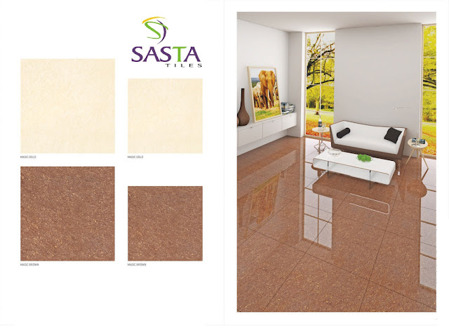 Vitrified Double Charged Tiles