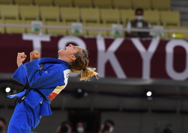Tokyo 2020: medaglia di bronzo per Odette Giuffrida nel judo