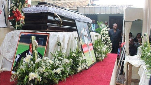 Photos: Cameroon Player Patrick Ekeng Who Died On The Pitch Laid To Rest