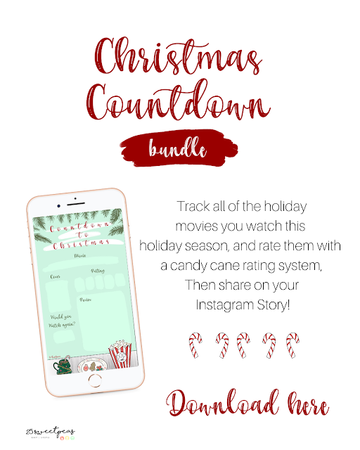 25 Sweetpeas Christmas Countdown Bundle