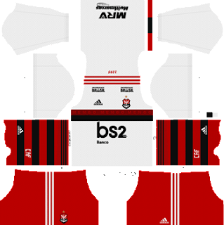 Flamengo Kits and Logo Dream League Soccer 2019-2020