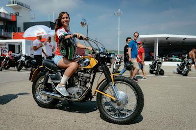 Ducati Scrambler 450 Anni '70