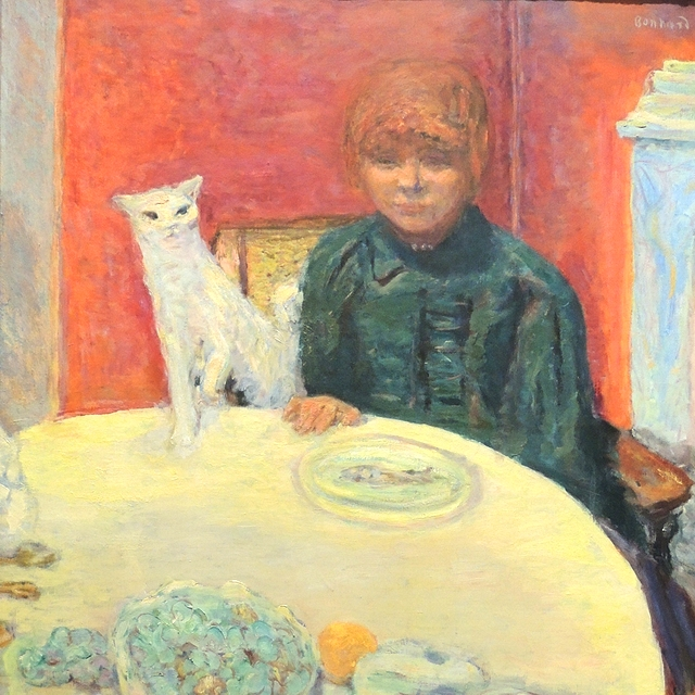 paris: art and cats