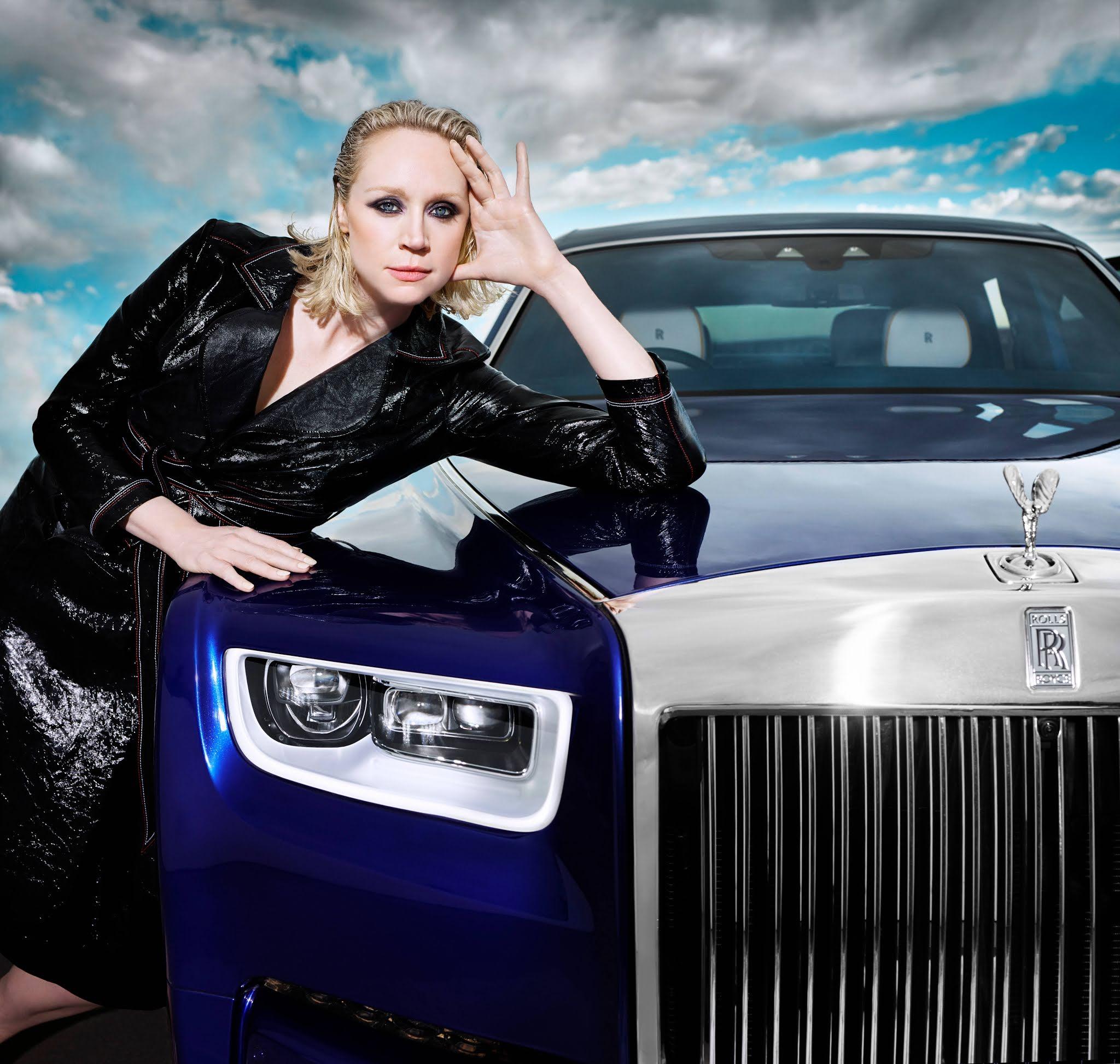 Rolls-Royce Phantom (Werbe) Film by Rankin mit Lady Brienne von Tarth   Eine britische Ikone mal rebellisch in Szene gesetzt