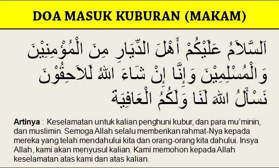 Download Doa Ziarah Kubur Sunnah [ Arti Dan Hadist ]