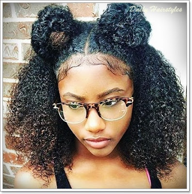 Hairstyles For Black Girls With Short Hair 55