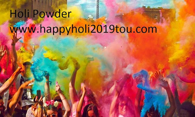 holi powder 2019
