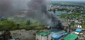 Bangladesh Food Factory Blaze