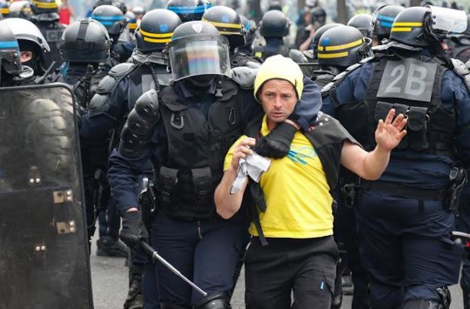 Protestos de 1º de maio terminam com 330 detenções na França