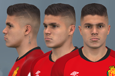 "PES 2017 Faces Juan ""Cucho"" Hernández by WER"