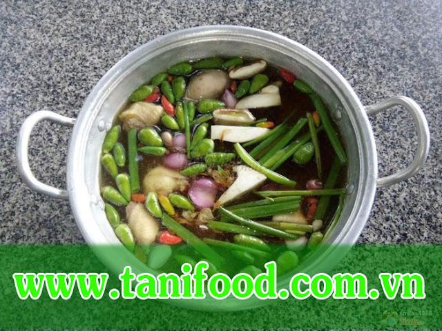 tanifood, quán ăn ngon tây ninh, quán đồng quê